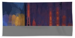 Color Abstraction Lii Beach Towel