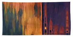 Color Abstraction Liv Beach Towel