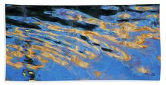 Color Abstraction Lxiv Beach Sheet