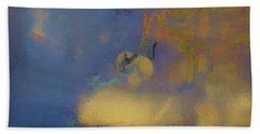 Color Abstraction Lxviii Beach Sheet by David Gordon