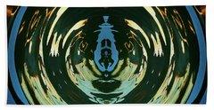 Color Abstraction Lxx Beach Sheet by David Gordon