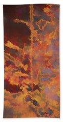 Color Abstraction Lxxi Beach Sheet by David Gordon