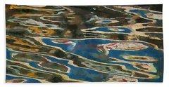 Color Abstraction Lxxv Beach Sheet by David Gordon