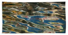 Color Abstraction Lxxv Beach Sheet