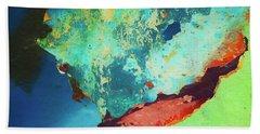 Beach Sheet featuring the photograph Color Abstraction Lxxvi by David Gordon