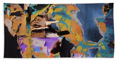 Color Abstraction Lxxvii Beach Towel by David Gordon