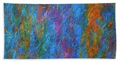 Color Abstraction Xiv Beach Sheet
