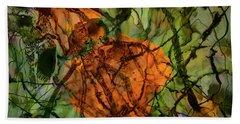 Color Abstraction Xx Beach Sheet
