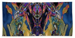 Color Abstraction Xxi Beach Sheet