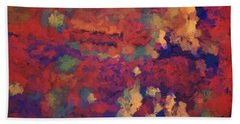 Color Abstraction Xxxv Beach Towel by David Gordon