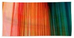Color Bands Beach Towel