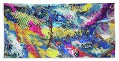 Color Burst Dynamic Beach Towel