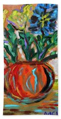 Color Everywhere Beach Towel
