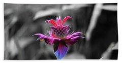 Color Flower Art Beach Sheet