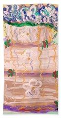 Color In A Wedding Cake Beach Sheet