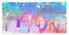 Color My World Beach Sheet