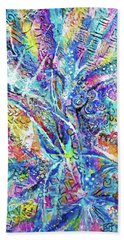 Color Play 1 Beach Towel