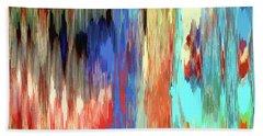 Color Shift Beach Towel