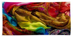 Color Storm Beach Towel