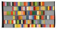 Color Strips Beach Sheet