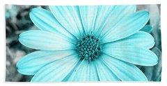 Color Trend Blue Blossom Beach Towel