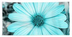Color Trend Blue Blossom Beach Towel