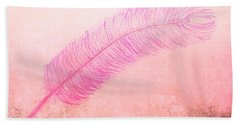 Color Trend Feather In The Wind Beach Towel