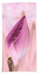 Color Trend Flower Bud Beach Towel