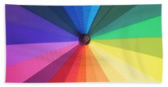 Color Wheel Beach Sheet