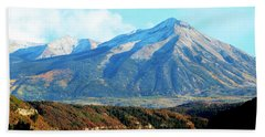 Colorado Autumn 2016 Raggeds Wilderness  Beach Towel