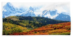 Colorado Autumn 2016 San Juan Mountains  Beach Towel