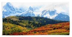 Colorado Autumn 2016 San Juan Mountains  Beach Sheet