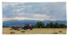 Beach Towel featuring the photograph Colorado Country by James BO Insogna