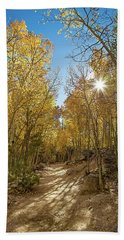 Colorado Gold Beach Towel by Tim Stanley