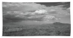 Colorado Grassland Beach Towel
