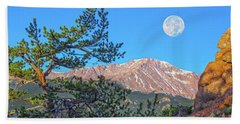 Colorado Rocky Mountain High, Just A Breath Away From Heaven Beach Towel