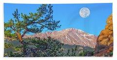 Colorado Rocky Mountain High, Just A Breath Away From Heaven Beach Sheet