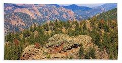Beach Sheet featuring the photograph Colorado Rocky Mountains by Sheila Brown