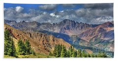 Colorado Rocky Mountains Beach Towel