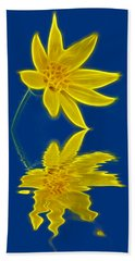 Colorado Wildflower Beach Towel