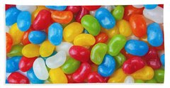 Colorful Candy Beach Towel