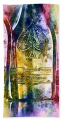 Colorful Champagne Beach Towel