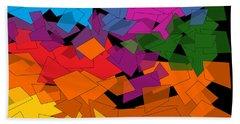 Colorful Chaos Too Beach Sheet
