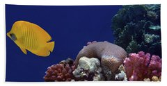 Colorful Coralreef Beach Sheet
