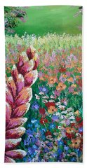 Colorful Day Beach Towel