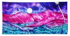 Colorful Desert Beach Towel