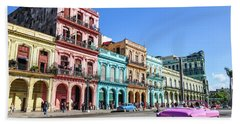 Colorful Havana Beach Towel