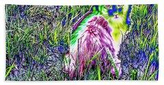 Colorful Kitty Beach Sheet