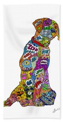 Labradorable Beach Towel