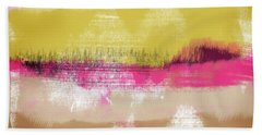 Colorful Landscape 28- Art By Linda Woods Beach Towel